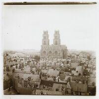 Ville A Identify Il Cattedrale c1930 Foto Placca Da Lente Stereo Vintage VR16L25