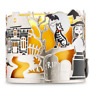 BATH & BODY WORKS HALLOWEEN 3 WICK CANDLE HOLDER SLEEVE NEW!