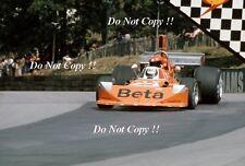 Vittorio BRAMBILLA Mars 741 BRITISH GRAND PRIX 1974 Photo 3
