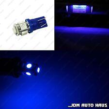 2x Blue License Number Plate Tag T10 Wedge 12V LED Light Bulb 194 168 2825 175