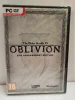 NEW Elder Scrolls IV 4 Oblivion 5th Anniversary Edition PC NEW Sealed UK Version