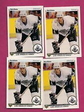 4 X 1990-91 UPD # 45 KINGS ROB BLAKE  ROOKIE CARD (INV#2798)