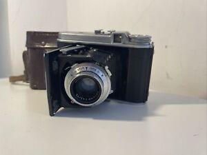 Voigtlander Perkeo I Folding Camera for 120 Film 1:4.5/75 Untested VERY RARE