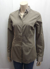 Gepunktete Damen-Blusen Damenblusen, - tops & -shirts mit klassischem Kragen