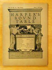Maxfield Parrish Cover Art Complete HARPER'S ROUND TABLE April 1899 No.18