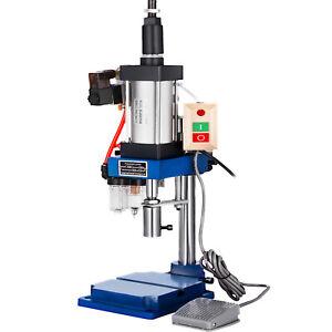 VEVOR 200KG Pneumatic Punch Press Machine Small Desktop Punching Machine 110V