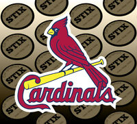 St Louis Cardinals Logo MBL Die Cut Vinyl Sticker Car Window Hood Bumper Decal