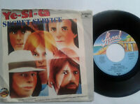 "Secret Service / Ye-Si-Ca 7"" Vinyl Single 1980 mit Schutzhülle"