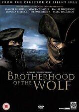 Brotherhood of The Wolf (2007) Samuel Le Bihan, Mark Dacascos NEW UK R2 DVD
