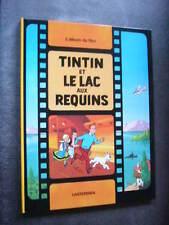 HERGE  TINTIN ET LE LAC AUX REQUINS  de 1976  Tintin au Cinéma  Comme Neuf