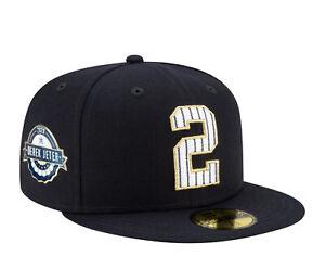 New Era 59Fifty MLB NY Yankees Derek Jeter 2021 HOF Pinned Fitted Hat 60183750