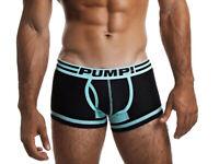 Pump! Underwear - Hypotherm Touchdown - Boxershorts - schwarz türkis