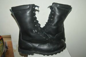 BOTTE RANGERS CUIR ARMEE FRANCAISE ARGUEYROLLES TAILLE 50 NEUF  GORE-TEX BOOTS