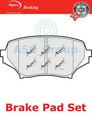 Apec Front Brake Pads Set OE Quality Replacement PAD1486