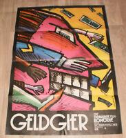 Filmplakat  GELDGIER: v RICHARD FLEISCHER