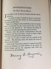 Signed Mary Baird Bryan HC Book The Memoirs Of William Jennings Bryan
