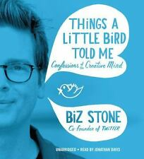 THINGS A LITTLE BIRD TOLD ME Biz Stone AUDIO BOOK Unabridged NEW 6 CDs SEALED
