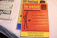 Le Saint Détective Magazine N43  - septembre  1958