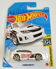 Hot Wheels Subaru WRX STI White #68 68/250 2021 HW Speed Graphics 2/10