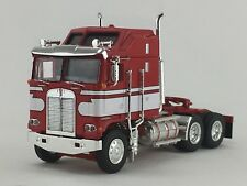 1/64 DCP RED/WHITE KENWORTH K-100 AERODYNE