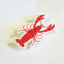 CG4873...ACRYLIC BROOCH OF A LOBSTER - FREE UK P&P
