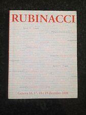 RUBINACCI Casa d'Aste - Catalogo Dicembre 2008