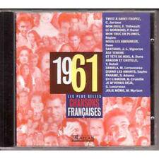 CD Les plus belles chansons francaises 1961 SAPHO DAVE ADAMO LENORMAN DUTEIL
