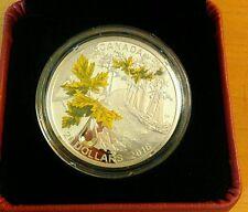 2016 Canada Silver wSwarovski® crystal  Bigleaf Maple  Mintage: 4,500