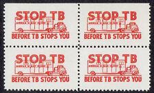 1948 Oklahoma Mobile X-Ray Clinic blk 4 - STOP TB, scarce