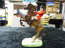 'Huntsman on rearing brown horse' Model No. 868, 2nd version. Issued 1952-1995