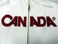 CANADA HBC OLYMPIC HOODIE SWEATER MEN'S SM WHITE EXTREMELY RARE!!