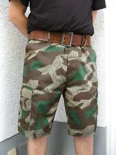 WH Heer Luftwaffe Tarnhose kurz Shorts Bermudas BDU  splittertarn Größe: XL=54
