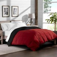 200 GSM 5 PC Reversible Comforter Set 1000 TC Egyptian Cotton Cal King & Colors