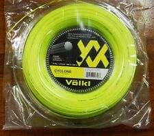 Brand New & Genuine Volkl Cyclone 1.25 /17Ga  200m Reel tennis String Free Post
