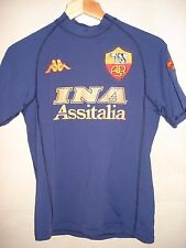 CAMISETA FOOTBALL SHIRT  AS ROMA KAPPA ITALIA 2000-2001 UEFA THIRD TERZA MAGLIA
