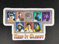 """Mortal Kombat """"Keep It Classy"""" Glossy Vinyl Sticker"""