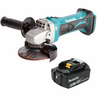 Makita DGA452 18v 115mm LXT Angle Grinder With 1 x 6Ah Battery