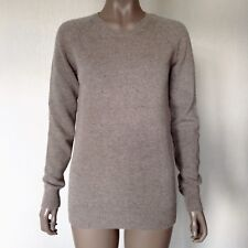 STELLA MCCARTNEY - Taupe Virgin Wool & Cashmere Sweater Jumper BNWOT Size 36