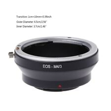 EOS-M4/3 Mount Adapter Ring For Canon EOS EF Mount Lens To Olympus Panasonic New