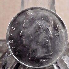 CIRCULATED 1978 1 FRANC BELGIUM COIN (020917)1