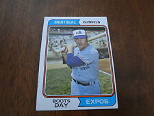 1974 Topps Boots Day Expos Card #589