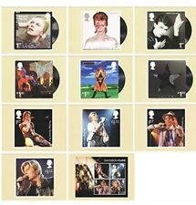 Gift Set of 2017 David Bowie 11 Postcards Pack