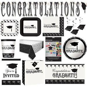 Graduation Congratulations Graduate Celebration Party Tableware Decorations Exam