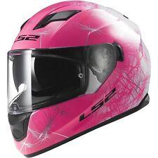 LS2 Pink/White/Black Stream Wind Helmet ( Size S / Small ) 328-1502