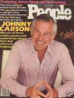 1979 People May 21-Johnny Carson, Adrienne Barbeau