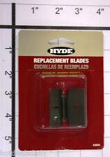 HYDE CAULK AWAY REPLACEMENT BLADES 2PC SET ITEM 43605 FOR SCRAPING AWAY CAULK