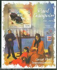 SOLOMON ISLANDS 2013 GREAT IMPRESSIONISTS  PAUL GAUGIN SHEET MINT NH