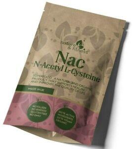 NAC N Acetyl Cysteine 1200mg Vegan Capsules Best NAC UK Supplements Antioxidant