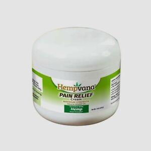 Hempvana Maximum Strength Pain Relief Cream.  4 OZ. As Seen On TV SEALED