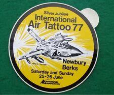 1977 International Air Tattoo Newbury Airshow Tornado Aircraft Sticker Decal